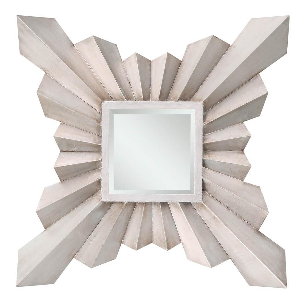 30 x 30 mirror 30 inch anna mirror aged silver 30 40022 decor south