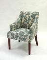 Accent Chair (Ikat Slate)