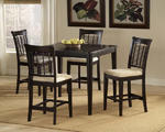 Bayberry Counter Height Dining Set (Dark Cherry Finish)