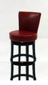 Boston Swivel Counter Stool (Red)