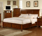 Chatham Storage Bed (Walnut Finish)