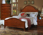 Cottage Collection Panel Bed (Cherry Finish)