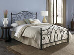 Deland Bed (Brown Sparkle Finish)