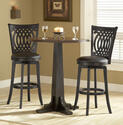 Dynamic Designs Pub Table Set (Black & Brown Cherry Finish)