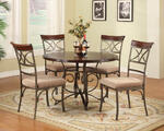 Hamilton Five Piece Dining Set (Medium Cherry)
