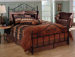Harrison Bed (Textured Black Finish)