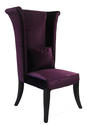 Mad Hatter Dining Chair (Rich Purple Velvet)
