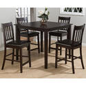 Marin County Merlot 5 Piece Counter Height Table & Counter Chair Set