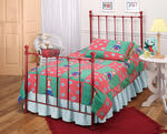Molly Trundle Bed (Red Finish)