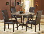 Monaco Dining Set (Matte Espresso Finish)