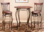 Montello Pub Table Set (Old Steel Finish)