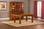 Outback Dining Table (Distressed Chestnut Finish)