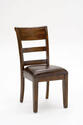 Park Avenue Dining Chair - Set of 2 (Dark Cherry Finish)