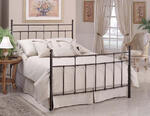 Providence Headboard (Antique Bronze Finish)