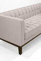 Roxbury Tufted Sofa (Cream) - [LC10103CR] 4