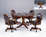 Warrington Game Table Set (Rich Cherry Finish)