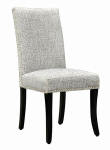 Accent Nail Side Chair - Set Of 2 (Light Gray) - [LCDESIAS]