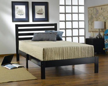 Aiden Twin Bed (Black Finish) - [1757-330]