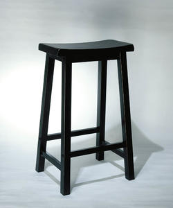 Bar Stool (Antique Black with Sand Through Terra Cotta) - [502-431]