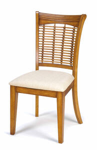 Bayberry Wicker Chair - Set of 2 (Oak Finish) - [4766-802]