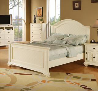 Brook Bed (White Finish) - [BP700TBW]