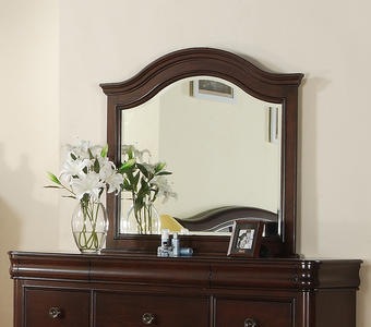 Cameron Dresser Mirror (Dark Cherry Finish) - [CM750MR]