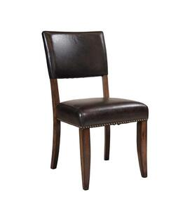 Cameron Parson Dining Chair - Set Of 2 (Chestnut Brown Finish) - [4671-804]