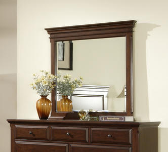 Canton Dresser Mirror (Cherry Finish) - [CN600MR]