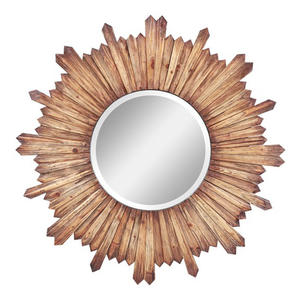 Catherine Mirror (Natural Wood) - 36