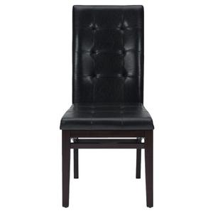 Chadwick Espresso Tufted Parson Chair - Set of 2 - [863-945KD]
