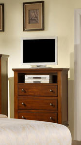 Chatham TV Chest (Walnut Finish) - [CH555TV]