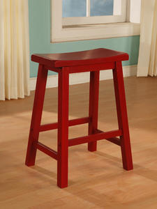 Color Story Counter Stool (Crimson Red) - [286-430]