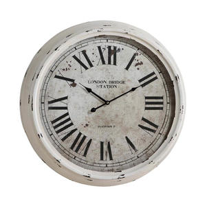 Daria Clock (Distressed White) - 24
