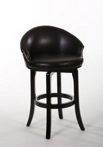Dartford Swivel Bar Stool (Dark Brown Cherry Finish) - [5075-830]