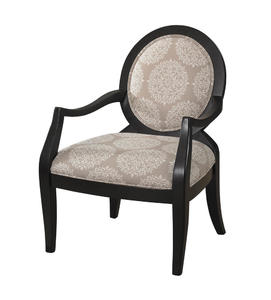 Framed Chair (Batik Pearl Black) - [271-607]
