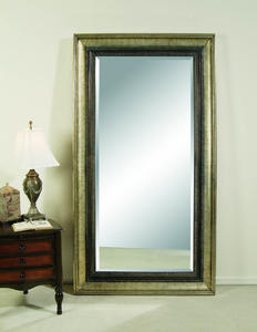Galindo Leaner Mirror (Antique Silver Finish) - [M2633BEC]