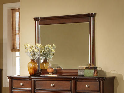 Hamilton Dresser Mirror (Dark Cherry Finish) - [HM100MR]