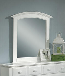 Hamilton Franklin Mirror (Snow White Finish) - [BB6-442]