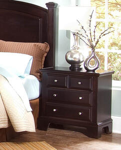 Hamilton Franklin Night Stand (Merlot Finish)