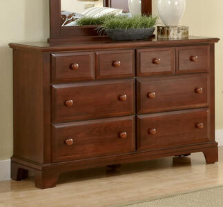 Hamilton Franklin Six Drawer Dresser (Cherry Finish) - [BB5-001]