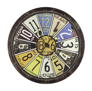 Hildale Clock (Distressed Brown) - 27