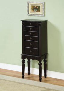 Jewelry Armoire (Ebony) - [502-317]