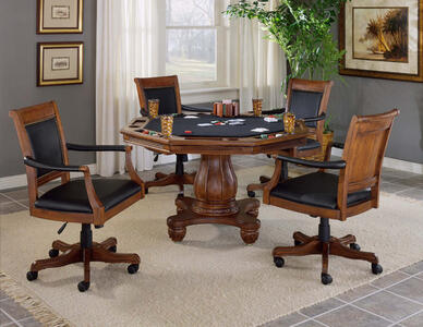 Kingston Game Table Set (Light Cherry Finish) - [6004GTBC]