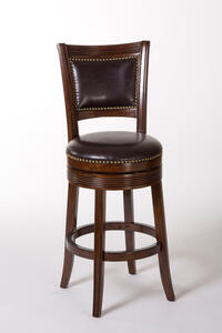 Lockefield Swivel Bar Stool (Espresso Finish) - [5221-831]