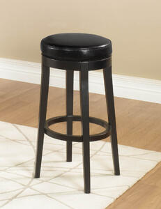MBS-450 Backless Swivel Counter Stool (Black) - [LC450BABL26]