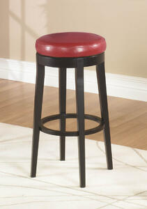 MBS-450 Backless Swivel Counter Stool (Red) - [LC450BARE26]