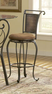 Milan Bar Stool (Black & Copper Finish) - [4527-831]