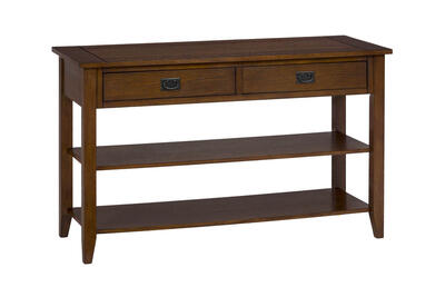 Mission Oak Sofa or Media Table - [1032-4]