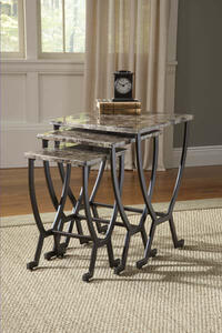 Monaco Nesting Tables (Matte Espresso Finish) - [4142-888]