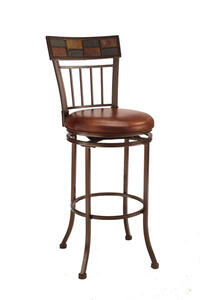 Montero Barstool (Copper Finish) - [4266-830]